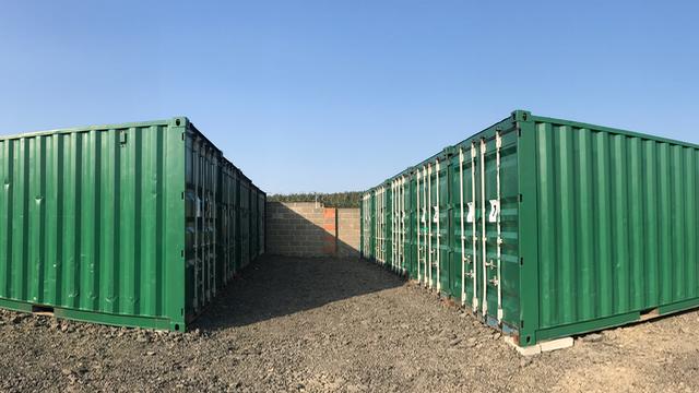 Container Storage at Caravan Storage Durham